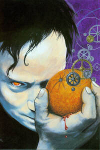 Clockwork Orange cover by Ron Miller, used by permission