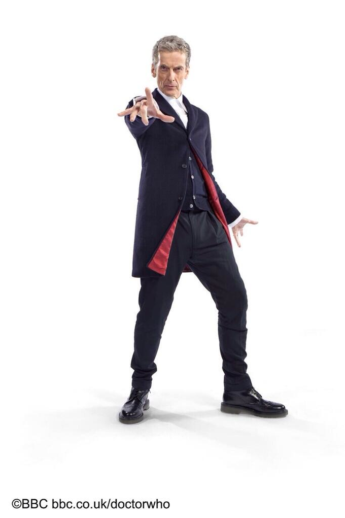 12th Doctor Capaldi costume